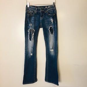 Miss Me JE5422EL Easy Boot Jeans. Size 25
